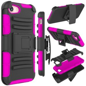 Accessories - iPhone 8/7/6S/6 kickstand cover w belt clip